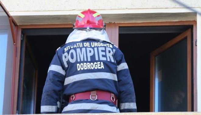 Foto: Incendiu la un restaurant din Constanţa