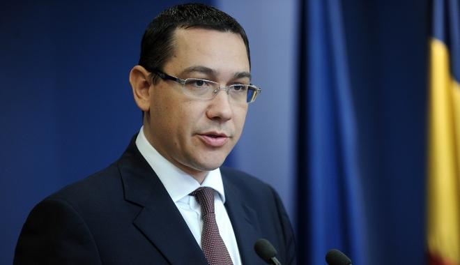 """Foto: """"Îmi doresc să fie una de succes pentru el, dar şi pentru toţi românii"""" / Ponta, despre vizita preşedintelui în SUA"""