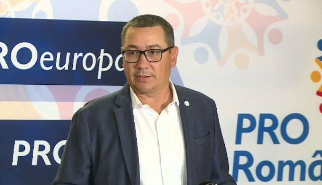 Foto: Victor Ponta: Moțiunea de cenzură - dezbătută și votată pe 10 octombrie