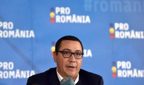 Foto: Ponta anunță că îi dă afară din partid pe cei care au votat Guvernul Orban: Au ales să lupte împotriva mea și împotriva Pro România