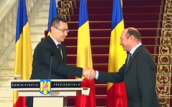 Foto: Victor Ponta nu s-a înţeles cu Traian Băsescu. Cei doi vor avea o nouă întâlnire