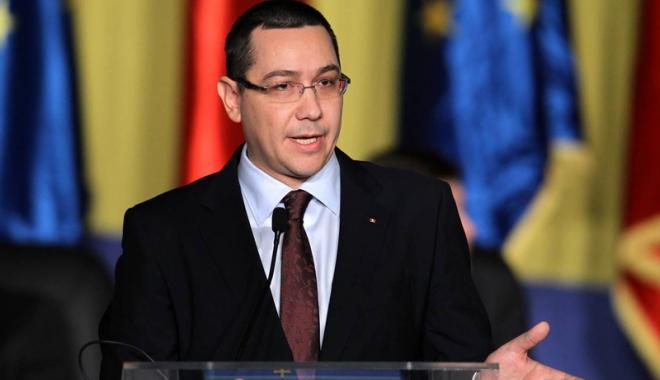 """Foto: Victor Ponta: """"Eu susţin Guvernul, PSD, nu-l susţin pe Liviu Dragnea"""""""