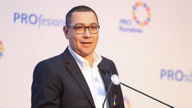 Foto: Victor Ponta deschide lista Pro România pentru europarlamentare