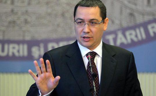 Ponta, despre creşterea pensiilor:
