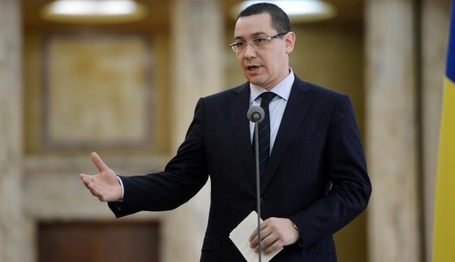 """Foto: Ponta: """"Mâine voi vota împotriva moţiunii de cenzură, dacă va mai fi o moţiune de cenzură"""""""