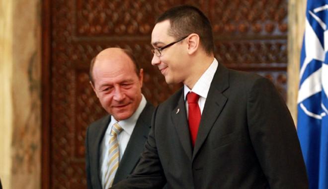 Foto: Băsescu şi Ponta vor referendum pentru Roşia Montană