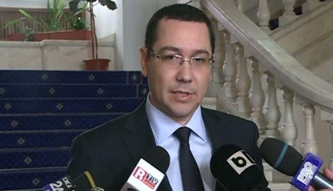 Foto: Ponta cere suspendarea subvenției pentru partide