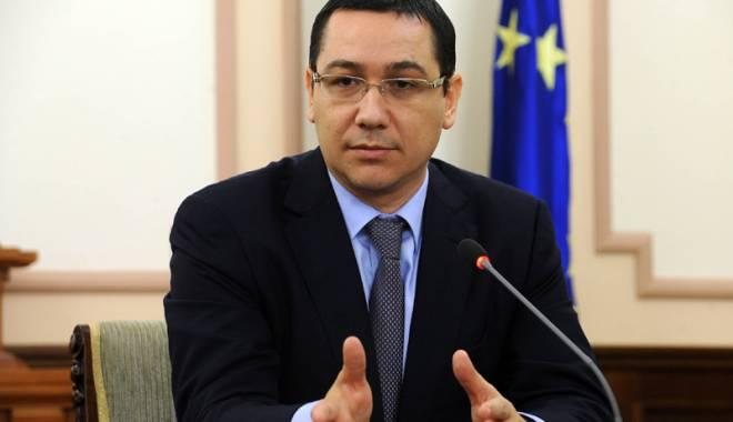 Foto: Ponta invită grupurile parlamentare la o discuţie pentru buget