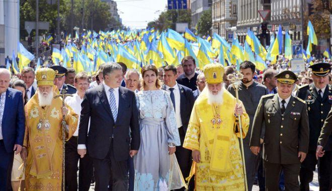 Foto: Poroşenko anunţă crearea unei Biserici ortodoxe ucrainene independente  de Patriarhia Moscovei