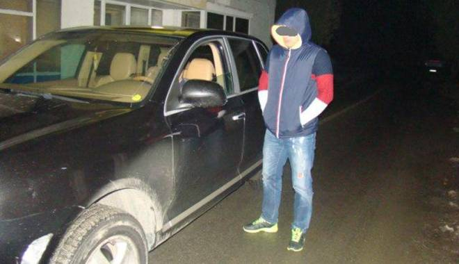 Foto: Porsche Cayenne, confiscat  la graniţa cu Bulgaria
