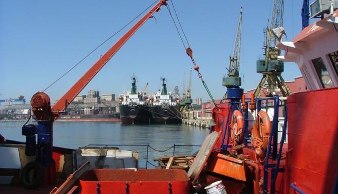 Foto: Portul Constanţa - performerul Mării Negre