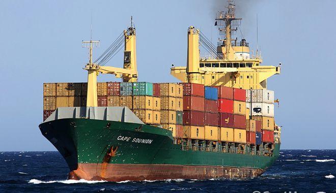 Foto: Portcontainer, în black-out, în Dardanele