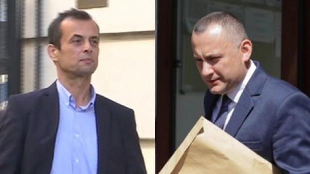 Foto: Procurorii Lucian Onea şi Mircea Negulescu, propuşi pentru arestare