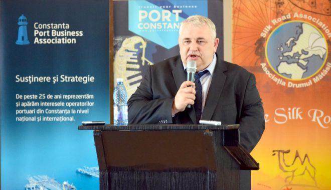 Foto: Portul Constanța și-a câștigat locul pe harta Drumului Mătăsii
