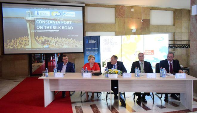 Portul Constanța și-a câștigat locul pe harta Drumului Mătăsii - portulconstanta7-1529685084.jpg
