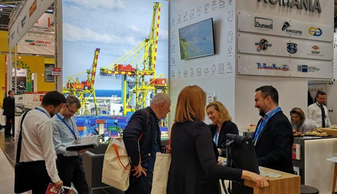 Foto: Portul Constanța este prezent la Expoziția Transport Logistic, din Munchen