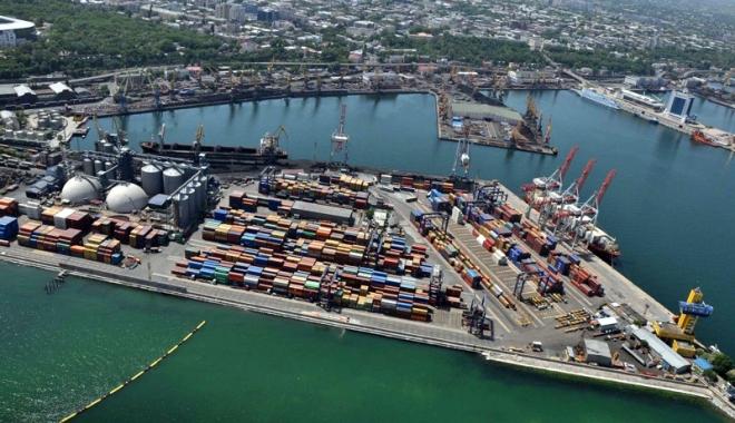 Foto: Porturile maritime ale Ucrainei primesc sprijin din Japonia