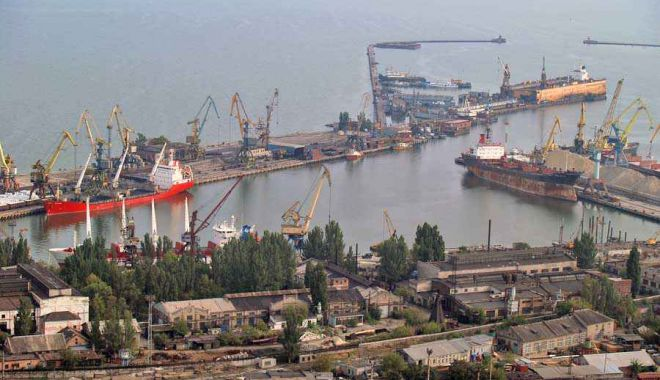 Porturile Ucrainei din Marea Azov, boicotate de Rusia