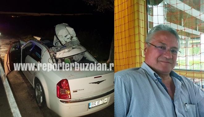 Foto: Tatăl Cameliei Potec în stare gravă, după ce a omorât un cal cu maşina, pe şosea