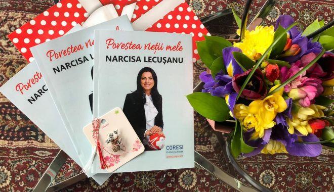 """""""Povestea vieții mele"""". Narcisa Lecușanu îşi lansează volumul memorialistic la Constanţa - povestea-1617022547.jpg"""