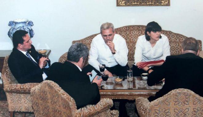 """Foto: Victor Ponta mai publică o fotografie cu Liviu Dragnea, Kovesi şi Maior: """"Pentru membrii CEx"""""""