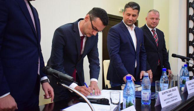 Dumitru Jeacă, învestit prefect al județului Constanța.