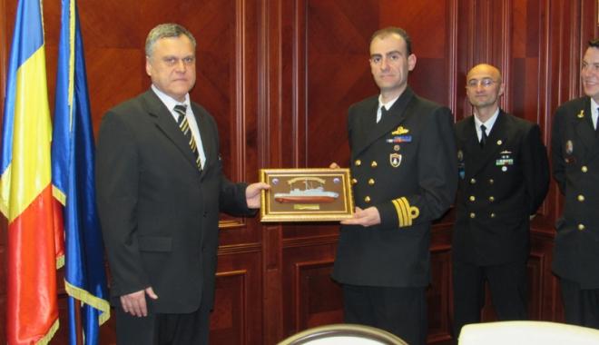 Foto: Prefectura Constanţa,  gazdă pentru o delegaţie militară NATO