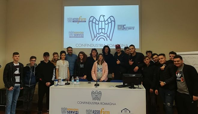 Pregătire practică în Italia, pentru elevii Liceului Tehnologic