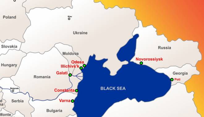 Foto: Premieră la Constanţa: Black Sea Ports & Shipping