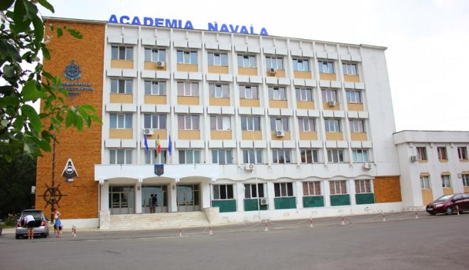 """Foto: Proiectul """"Cadet pentru o zi"""",  organizat la Academia Navală"""