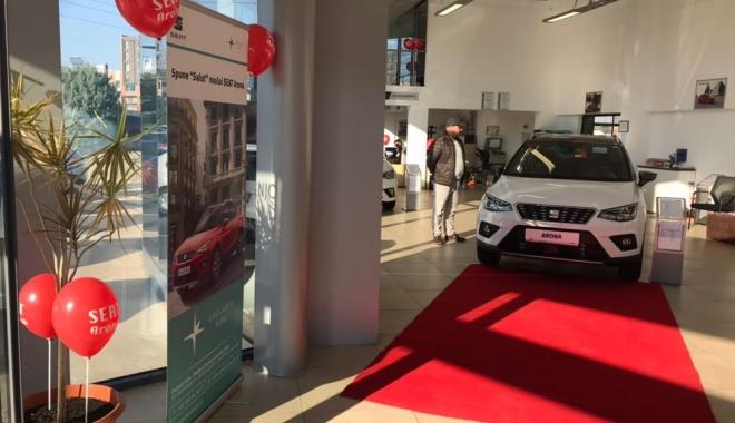 Foto: GALERIE FOTO / Premieră naţională la Constanţa. Exclusiv Auto a prezentat noul SEAT Arona
