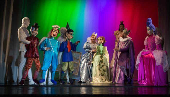 """Foto: Premieră la Teatrul de Copii: """"Prinţesa şi broscoiul"""""""