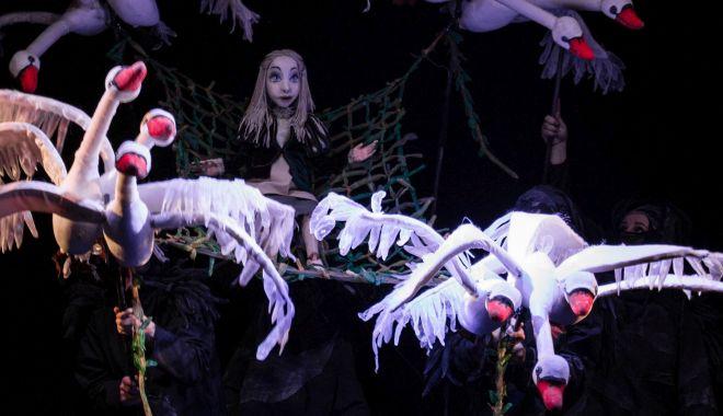 """Foto: Premieră la Teatrul """"Căluţul de mare"""". """"Lebedele"""" lui Andersen vin să încânte constănţenii"""