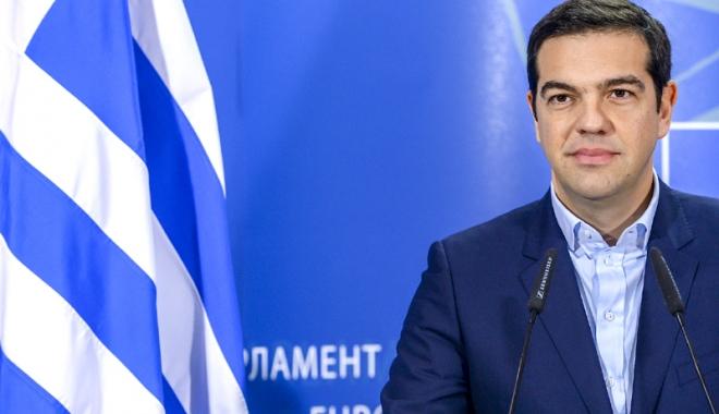 Foto: Premierul Tsipras promite reluarea creşterii economice a Greciei