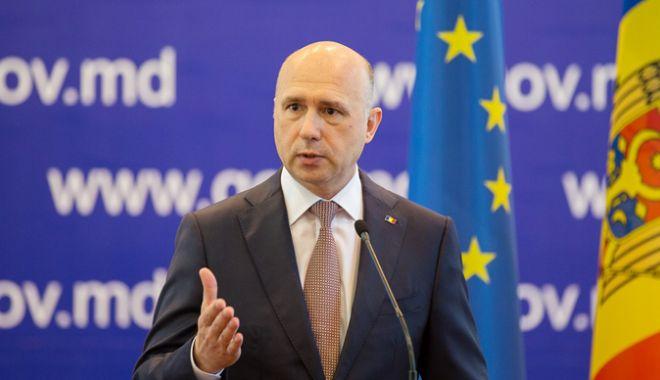 Premierul moldovean, la întâlnirea  cu delegaţia UE: