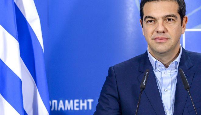 Foto: Premierul grec promite reduceri fiscale şi reintroducerea celei de-a 13-a pensii