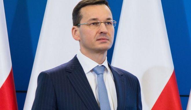 Foto: Premierul polonez, criticat dur de reprezentanţii comunităţii evreieşti