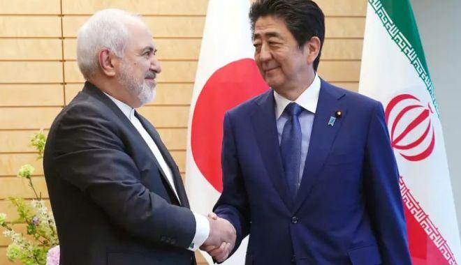 Foto: Premierul nipon Shinzo Abe, vizită istorică în Iran