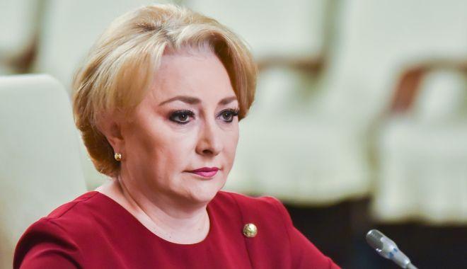 """Foto: Premierul Viorica Dăncilă: """"Nu este oportună cooptarea Pro România la guvernare"""""""