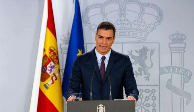 Foto: Premierul spaniol Pedro Sanchez promite să majoreze pensiile și salariul minim