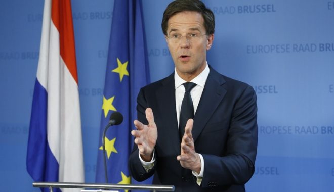 Foto: Premierul olandez Mark Rutte: Londra trebuie să-și clarifice relațiile pe care  le dorește post-Brexit