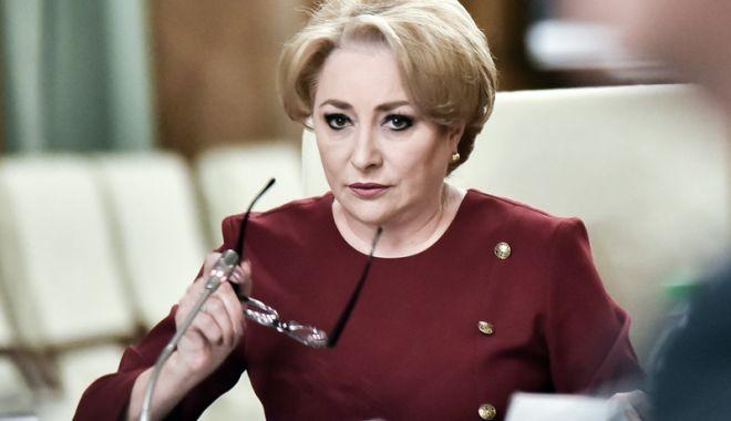 Foto: Premierul Viorica Dăncilă vine la Constanța. Care este motivul