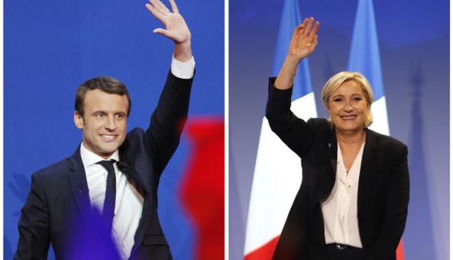 Foto: Presa franceză: Dezbaterea Macron-Le Pen, de o brutalitate neobişnuită