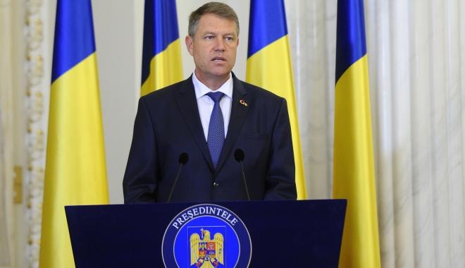 Foto: Preşedintele Klaus Iohannis: