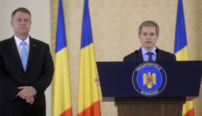 """Foto: """"Preşedintele Iohannis poate conta pe susţinerea mea"""""""