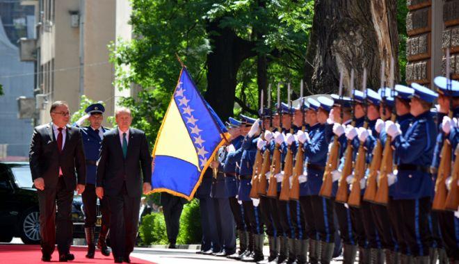 Foto: Preşedintele turc Erdogan, miting electoral în Bosnia