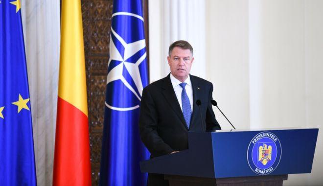 Foto: Preşedintele Iohannis solicită Parlamentului reexaminarea legii privind CSM