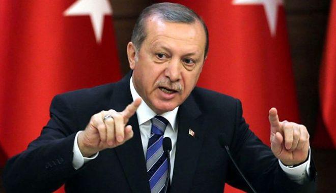 Foto: Preşedintele Erdogan critică ţările UE pentru că tolerează grupările teroriste