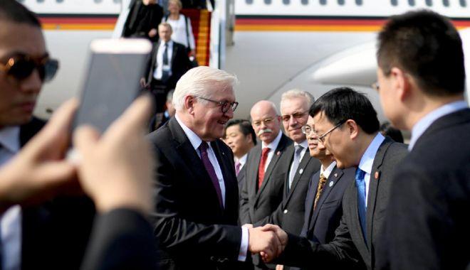 Foto: Preşedintele Germaniei, avertisment pentru oamenii de afaceri chinezi