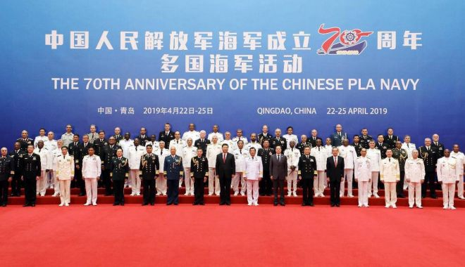 """Foto: Preşedintele Xi Jinping: """"Poporul chinez iubeşte pacea!"""""""